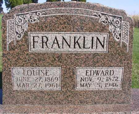 FRANKLIN, LOUISE - Linn County, Iowa | LOUISE FRANKLIN