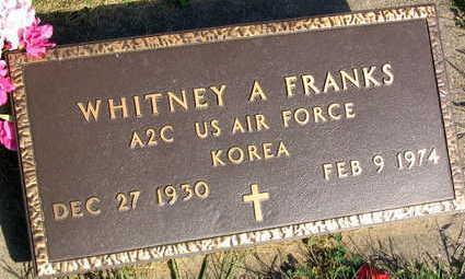 FRANKS, WHITNEY A. - Linn County, Iowa | WHITNEY A. FRANKS