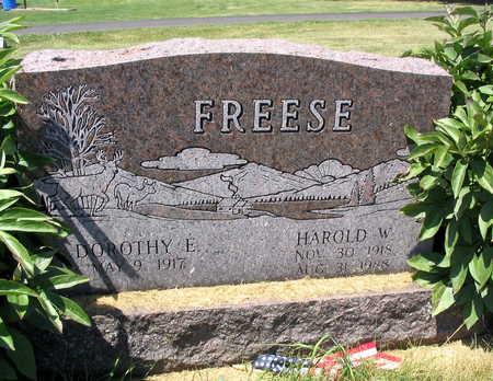 FREESE, HAROLD W. - Linn County, Iowa | HAROLD W. FREESE