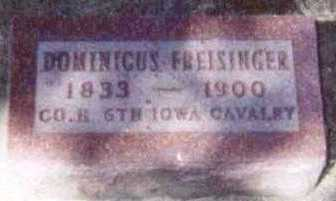 FREISINGER, DOMINICUS - Linn County, Iowa | DOMINICUS FREISINGER
