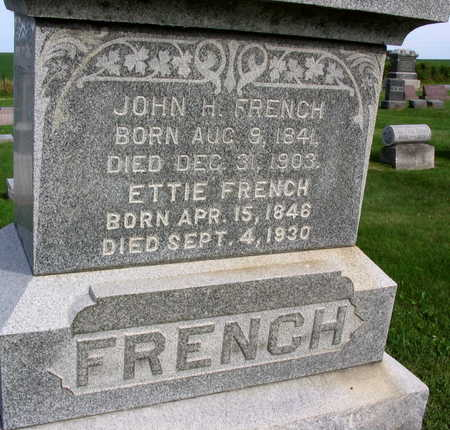 FRENCH, JOHN H. - Linn County, Iowa | JOHN H. FRENCH