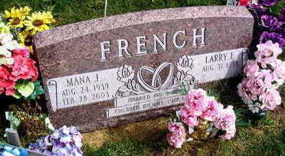 FRENCH, MANA J. - Linn County, Iowa | MANA J. FRENCH