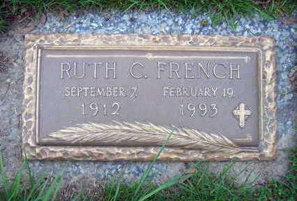FRENCH, RUTH C. - Linn County, Iowa   RUTH C. FRENCH