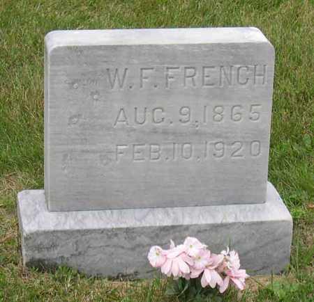 FRENCH, W. F. - Linn County, Iowa | W. F. FRENCH