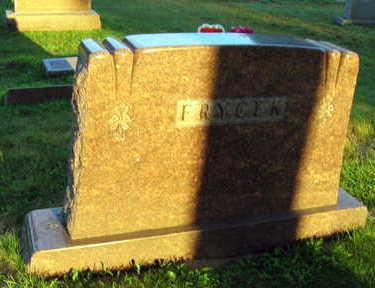 FRYCEK, FAMILY STONE - Linn County, Iowa | FAMILY STONE FRYCEK