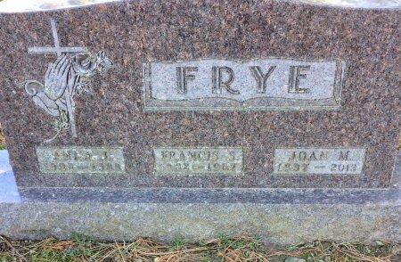 FRYE, JOAN M. - Linn County, Iowa | JOAN M. FRYE