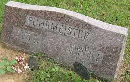 FUHRMEISTER, ANNA H. - Linn County, Iowa | ANNA H. FUHRMEISTER
