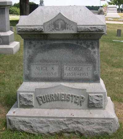 FUHRMEISTER, GEORGE C. - Linn County, Iowa   GEORGE C. FUHRMEISTER