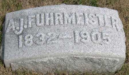 FUHRMEISTER, A. J. - Linn County, Iowa | A. J. FUHRMEISTER