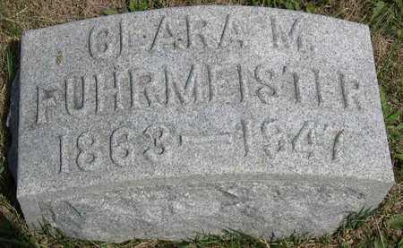 FUHRMEISTER, CLARA M. - Linn County, Iowa | CLARA M. FUHRMEISTER