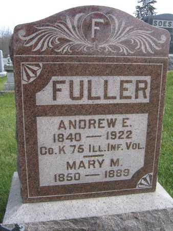 FULLER, MARY M. - Linn County, Iowa | MARY M. FULLER