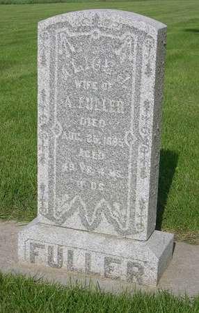 FULLER, ALICE - Linn County, Iowa | ALICE FULLER