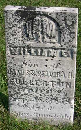 FULLERTON, WILLIAM E. - Linn County, Iowa   WILLIAM E. FULLERTON