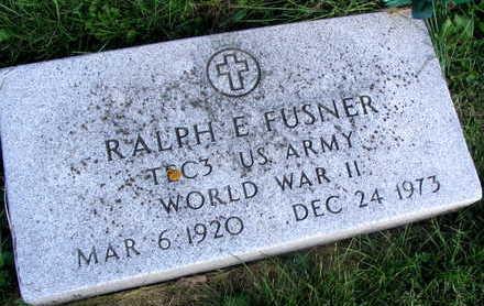 FUSNER, RALPH E. - Linn County, Iowa | RALPH E. FUSNER