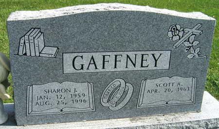 GAFFNEY, SHARON J. - Linn County, Iowa   SHARON J. GAFFNEY