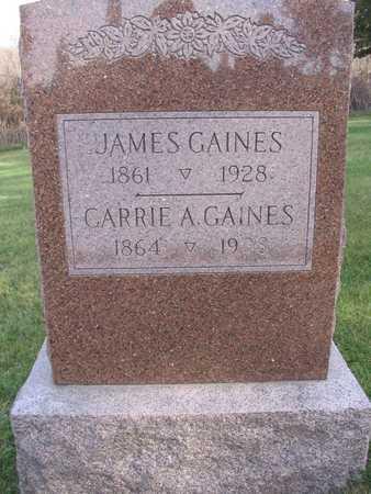 GAINES, CARRIE A. - Linn County, Iowa | CARRIE A. GAINES