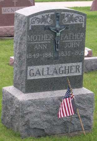 GALLAGHER, JOHN - Linn County, Iowa | JOHN GALLAGHER