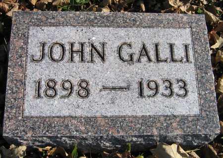 GALLI, JOHN - Linn County, Iowa | JOHN GALLI