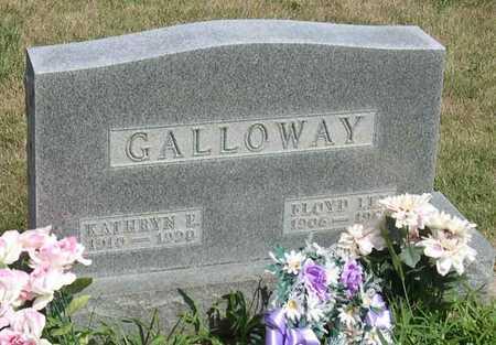 GALLOWAY, KATHRYN E. - Linn County, Iowa   KATHRYN E. GALLOWAY