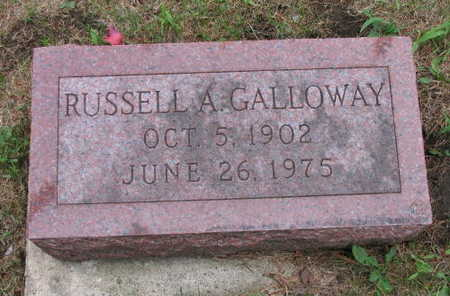 GALLOWAY, RUSSELL A. - Linn County, Iowa | RUSSELL A. GALLOWAY