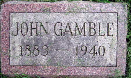 GAMBLE, JOHN - Linn County, Iowa | JOHN GAMBLE