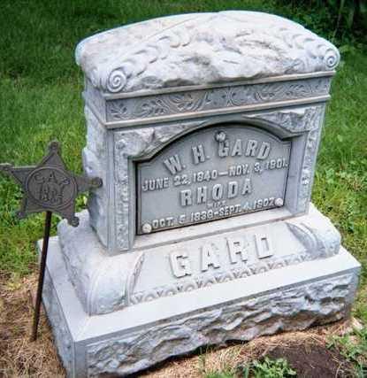 GARD, W.H. - Linn County, Iowa   W.H. GARD