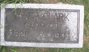 GARRETT, PETER CLARK - Linn County, Iowa | PETER CLARK GARRETT