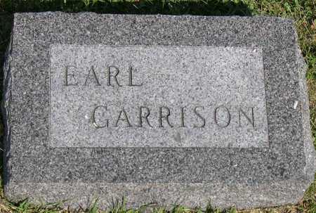 GARRISON, EARL - Linn County, Iowa   EARL GARRISON