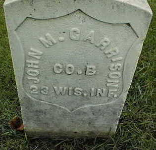 GARRISON, JOHN M. - Linn County, Iowa   JOHN M. GARRISON