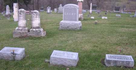 GAUBY, FAMILY STONE - Linn County, Iowa   FAMILY STONE GAUBY