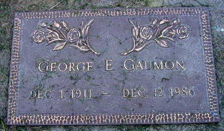 GAUMON, GEORGE E. - Linn County, Iowa   GEORGE E. GAUMON