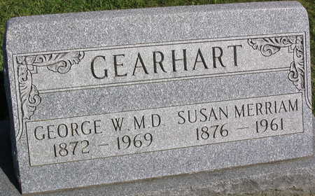 GEARHART, GEORGE W., MD - Linn County, Iowa | GEORGE W., MD GEARHART