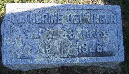 GEHRINGER, CATHERINE - Linn County, Iowa | CATHERINE GEHRINGER