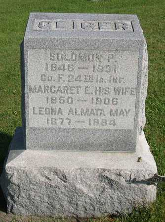 GEIGER, LEONA ALMATA MAY - Linn County, Iowa | LEONA ALMATA MAY GEIGER
