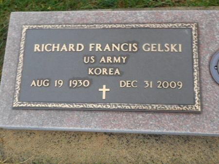 GELSKI, RICHARD FRANCIS - Linn County, Iowa | RICHARD FRANCIS GELSKI