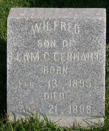GERHART, WILFRED - Linn County, Iowa   WILFRED GERHART