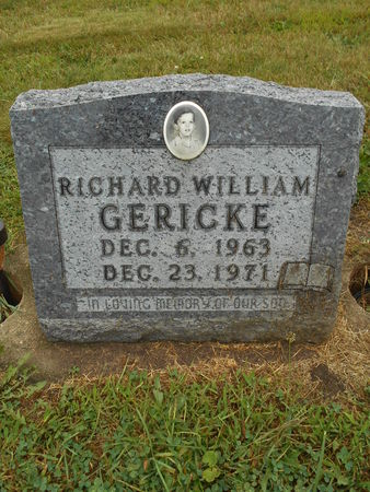 GERICKE, RICHARD WILLIAM - Linn County, Iowa   RICHARD WILLIAM GERICKE