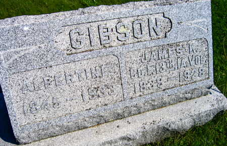GIBSON, JAMES K. - Linn County, Iowa   JAMES K. GIBSON