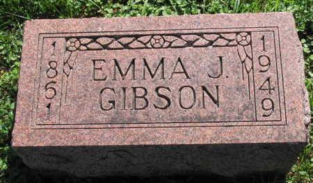 GIBSON, EMMA J. - Linn County, Iowa   EMMA J. GIBSON