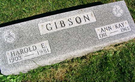 GIBSON, HAROLD E. - Linn County, Iowa | HAROLD E. GIBSON
