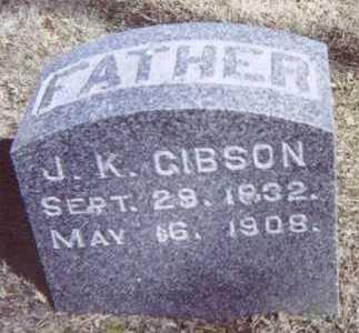 GIBSON, J. K. - Linn County, Iowa | J. K. GIBSON