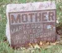 COURTNEY GIBSON, MARY C. - Linn County, Iowa | MARY C. COURTNEY GIBSON