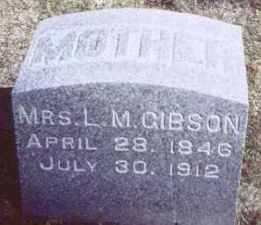 GIBSON, MRS. L. M. - Linn County, Iowa | MRS. L. M. GIBSON