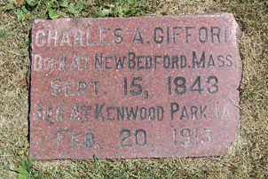 GIFFORD, CHARLES A. - Linn County, Iowa | CHARLES A. GIFFORD