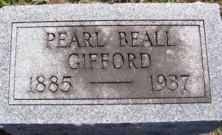 BEALL GIFFORD, PEARL - Linn County, Iowa | PEARL BEALL GIFFORD