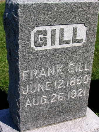 GILL, FRANK - Linn County, Iowa | FRANK GILL
