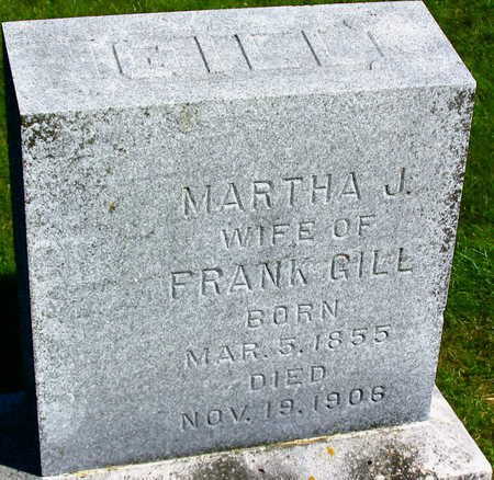 GILL, MARTHA J. - Linn County, Iowa | MARTHA J. GILL