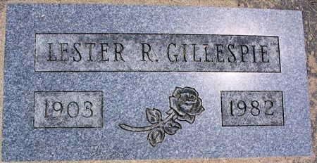 GILLESPIE, LESTER R. - Linn County, Iowa   LESTER R. GILLESPIE
