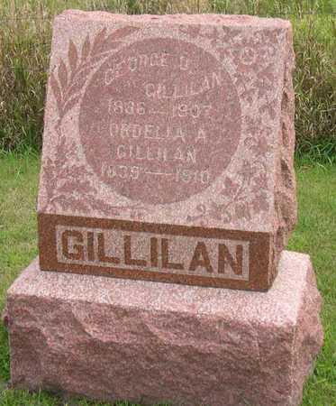 GILLILAN, GEORGE O. - Linn County, Iowa   GEORGE O. GILLILAN