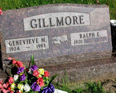GILLMORE, GENEVIEVE M. - Linn County, Iowa   GENEVIEVE M. GILLMORE